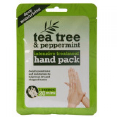 Tea Tree & Peppermint Intensive Treatment Hand Pack - Γάντια
