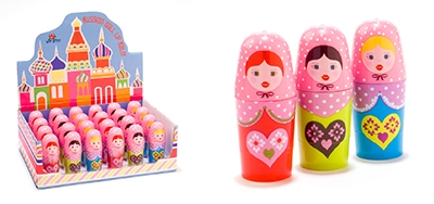 MAD Russian Doll Lip Balm.