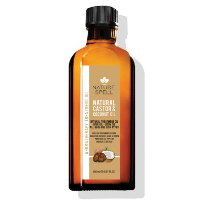 CASTOR & COCONUT OIL  NATURAL TREATMENT OIL HAIR & BODY OIL