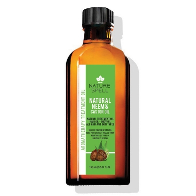 NEEM & CASTOR OIL-NATURAL TREATMENT OIL